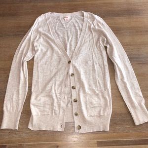 Mossimo cardigan size medium